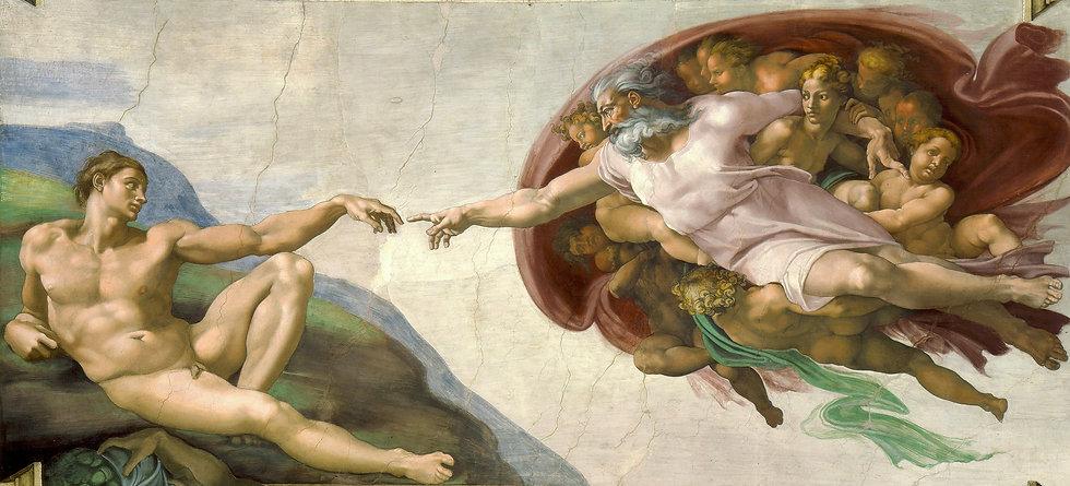 Michelangelo_-_Creation_of_Adam_(cropped