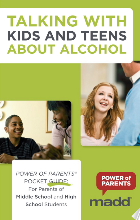 POWERTALK21: APRIL 21ST IS THE NATIONAL DAY TO TALK WITH YOUR KIDS AND TEENS ABOUT ALCOHOL.