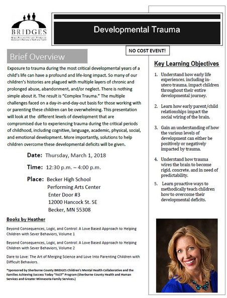 Upcoming Heather Forbes Presentations
