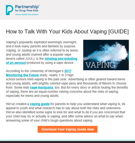 How to Talk With Your Kids About Vaping [GUIDE]