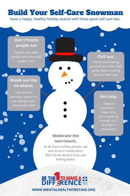 Build Your Self-Care Snowman