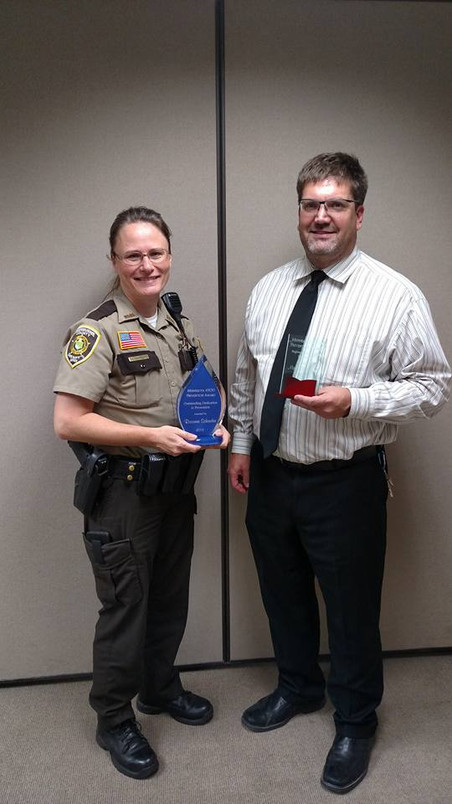 Award Recipients from Sherburne County recognized at Minnesota's 41st Annual Prevention Program Shar