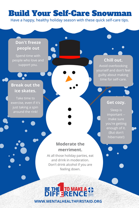 Build Your Self-Care Snowman