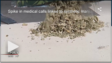 Spike in medical calls linked to synthetic marijuana