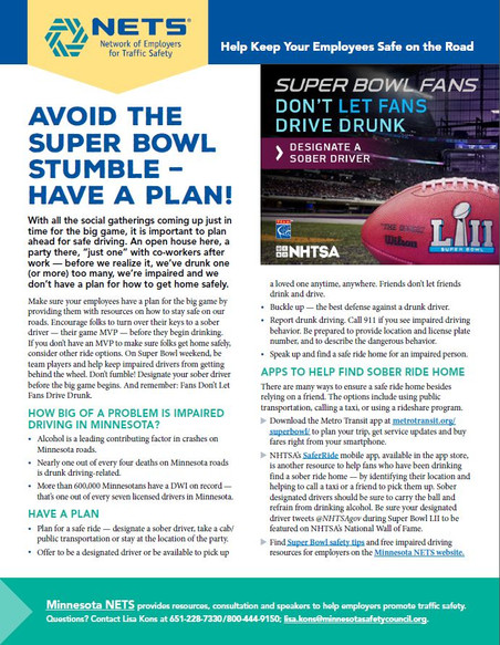 Avoid the Super Bowl Stumble - Have a Plan!