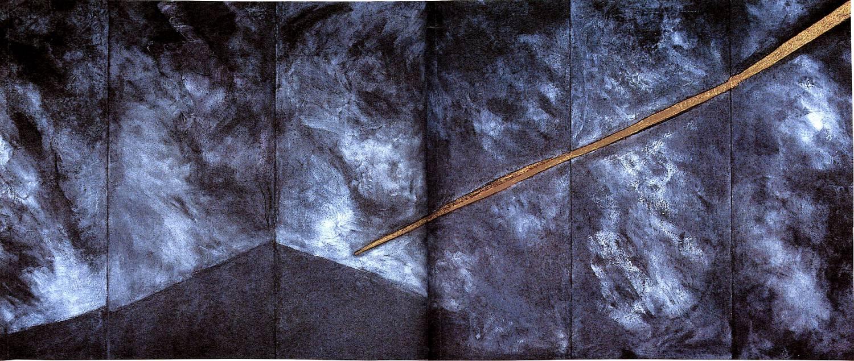 300x600cm - Affresco su tavole