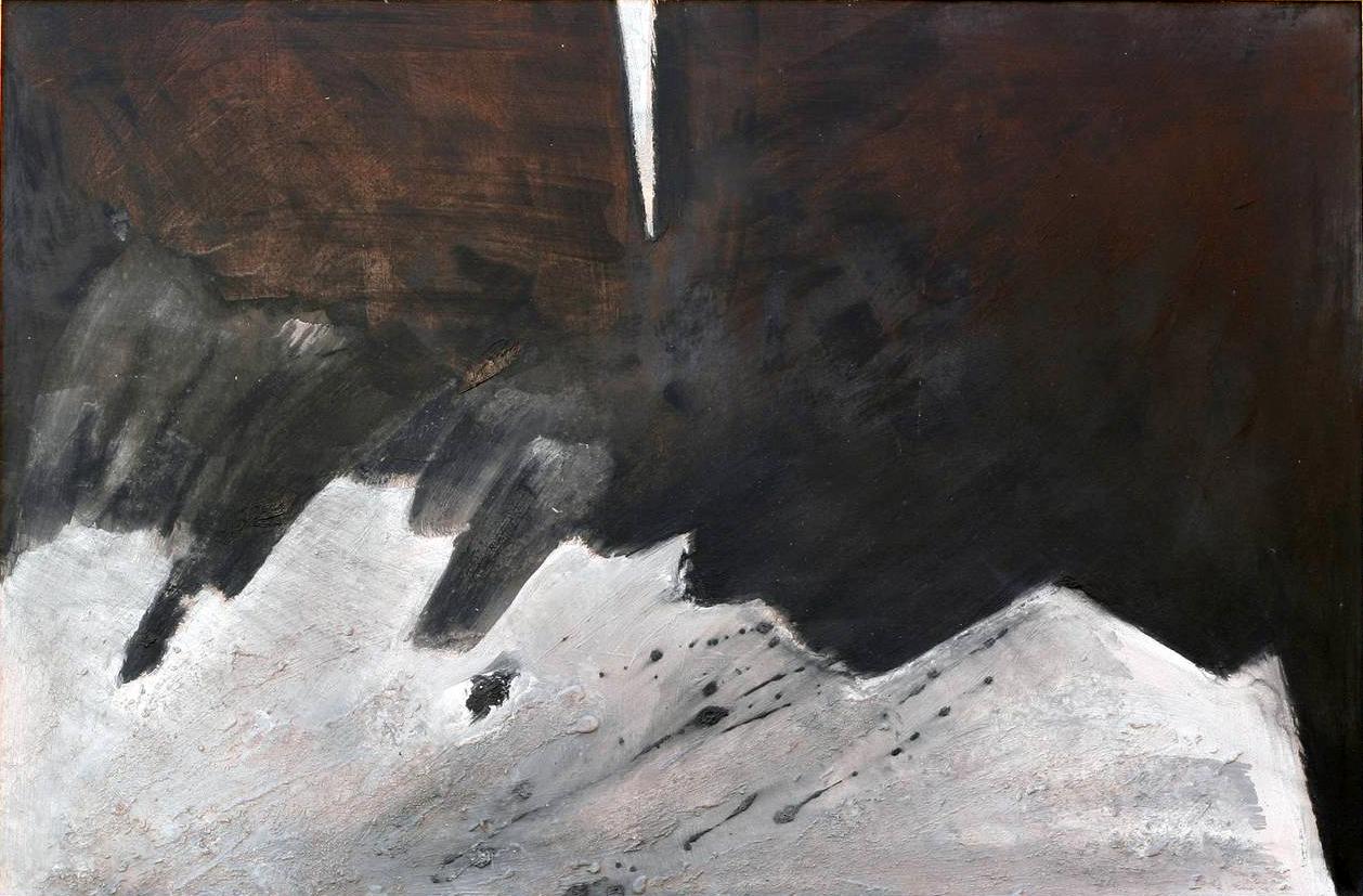 76x136cm - Olio su tavola