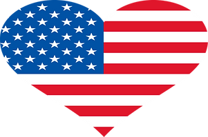 RED White Blue Heart Vector.png