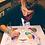 Thumbnail: Cosmic Panda ORIGINAL, Watercolor and Pen & Ink, by Haylee McFarland
