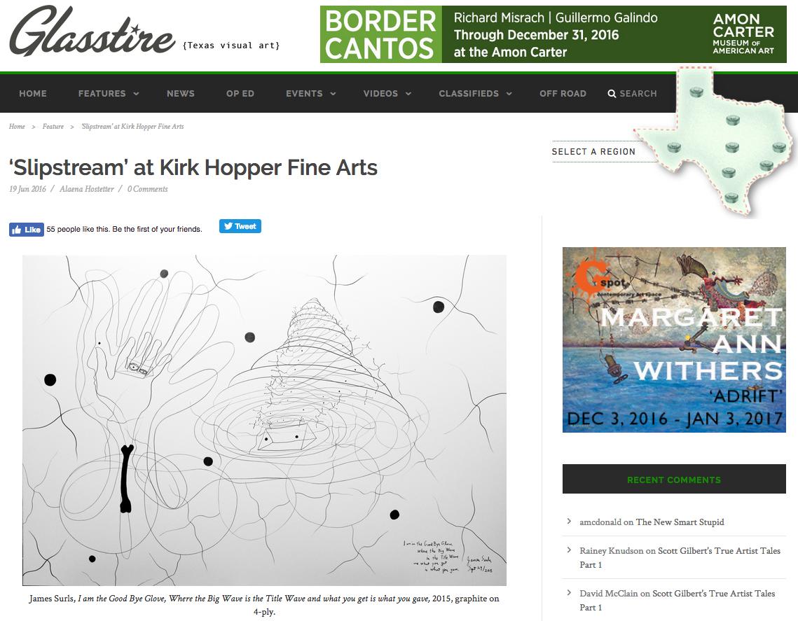 'Slipstream' at Kirk Hopper Fine Art