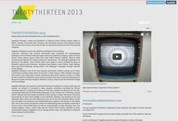 TWENTYTHIRTEEN 2013