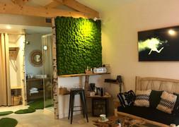 espace café chambre d'hôte nature coudou