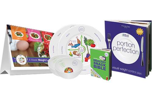 COMPLETE PORTION PERFECTION COUPLES KIT (MELAMINE)
