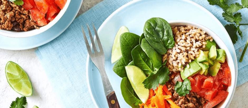 Dietitian's Pick: 15-Minute Mexican Burrito Bowl