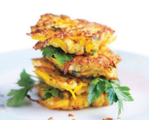 Dietitian's Pick: Easy Chicken and Pumpkin Patties