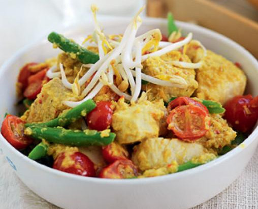 Dietitian's Pick: White Fish, Coconut and Green Bean Curry