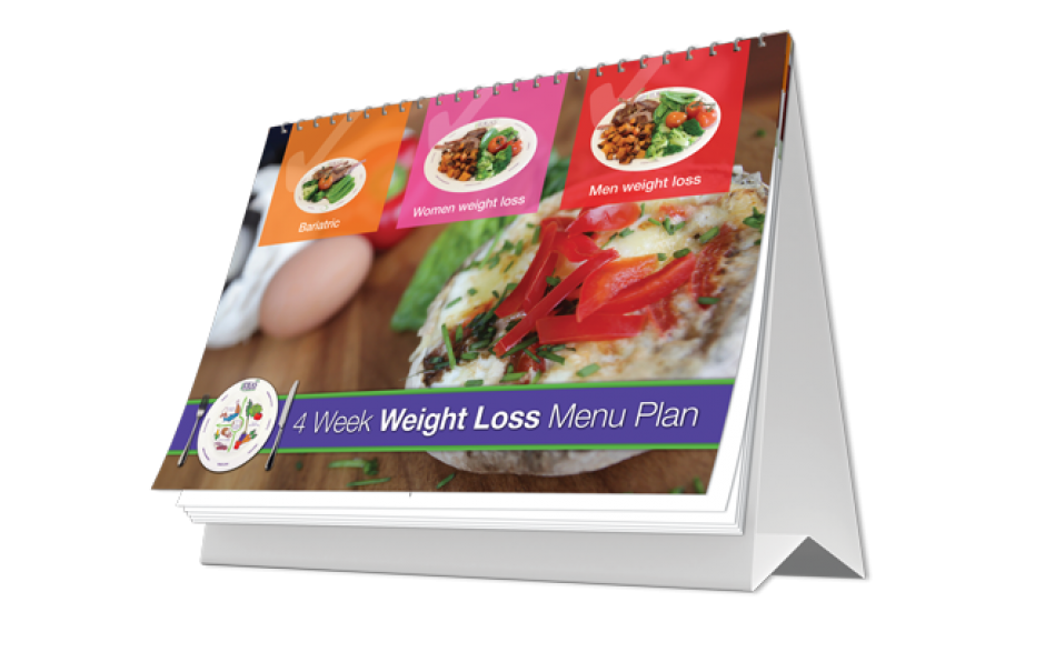 4 week weight loss menu plan