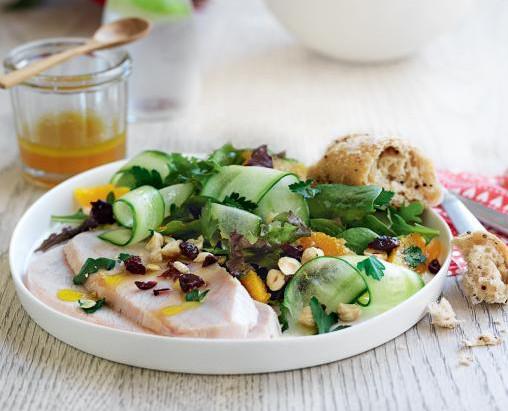 Dietitian's Pick: Turkey, Orange, Cranberry & Hazelnut Salad