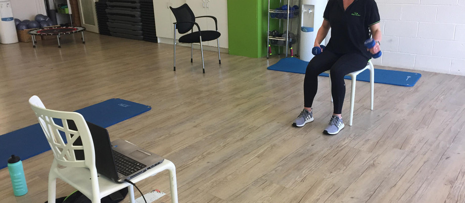 Get Active at Home with Our Online Home-based Exercise Class
