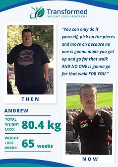 Andrew's testimonial