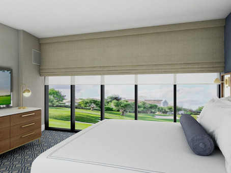 Guestroom Renovation Underway at Oakbrook Hills Resort