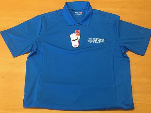 Blue Golf Polo
