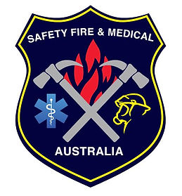 Safety fire and medical australia logo