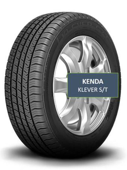 Set of 4 - 255/60/19 NEW Kenda Tires