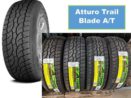 Set of 4 - LT285/75/16 NEW Atturo All Terrain 10ply Tires