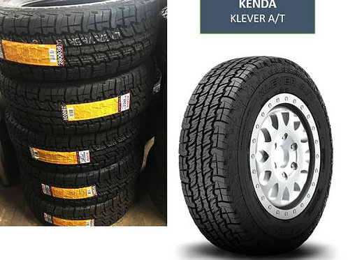 Set of 4 - 255/65/17 NEW Kenda All Terrain Tires