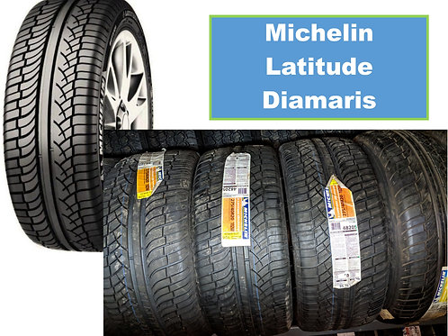 Set of 4 - 275/40/20 NEW Michelin Tires