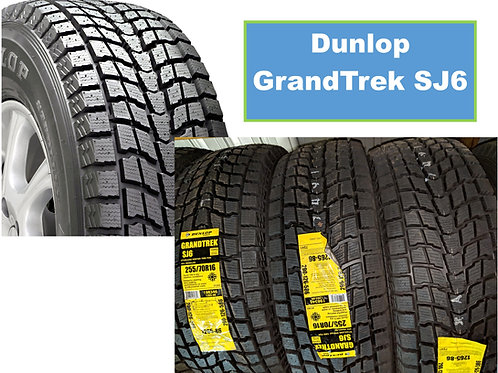 Pair of 2 - 265/65/17 NEW Dunlop SNOW Tires