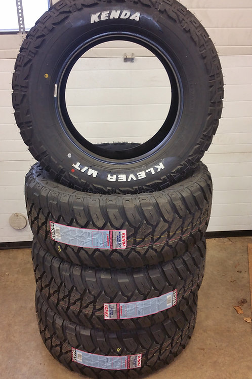 Set of 4 - LT305/60/18 NEW Kenda 10ply MUD Tires