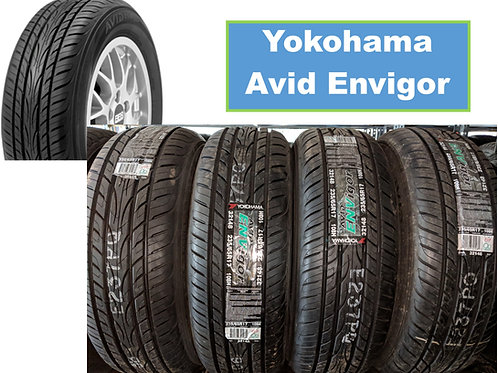 Set of 4 - 195/55/16 NEW Yokohama Tires