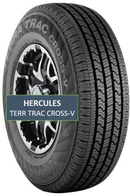 Set of 4 - 245/60/18 NEW Hercules Tires
