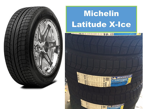 Set of 4 - 235/75/15 NEW Michelin Snow Tires