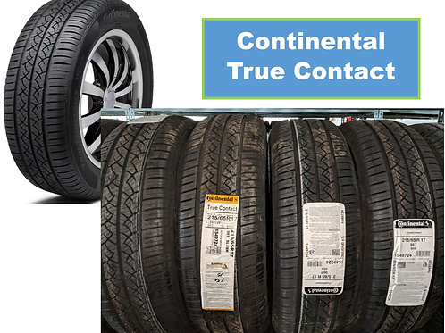 Set of 4 - 205/60/16 New Continental Tires