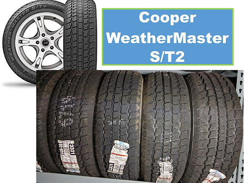 Set of 4 - 265/60/18 NEW Cooper SNOW Tires