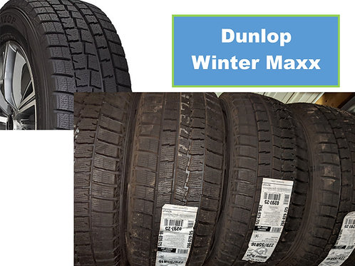 Set of 4 - 185/60/14 NEW Dunlop SNOW Tires