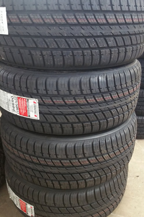 Set of 4 - 195/60/14 NEW Uniroyal Tires