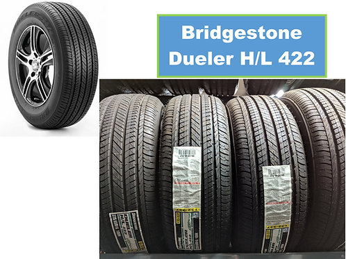 Set of 4 - 225/65/16 NEW Bridgestone Tires