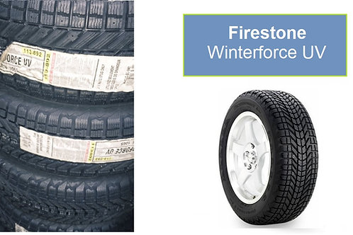 Set of 3 - 175/70/13 NEW Firestone SNOW Tires