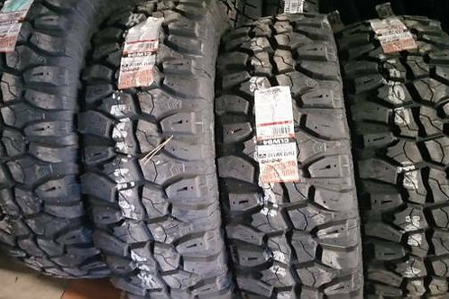 Set of 4 - 35/12.50/17LT NEW Mud Claw 8ply Tires