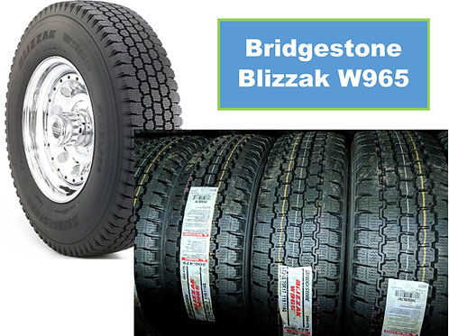 Set of 4 - LT225/75/16 NEW Bridgestone SNOW Tires