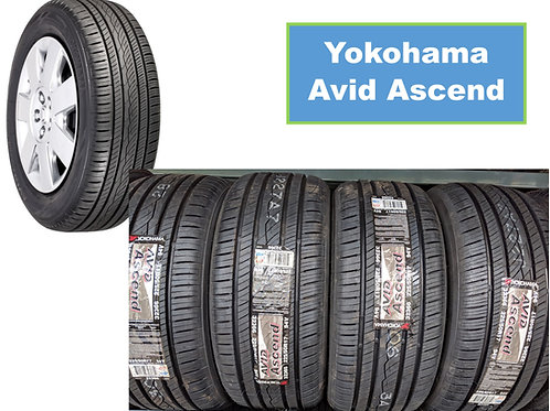 Set of 4 - 205/65/16 New Yokohama Tires