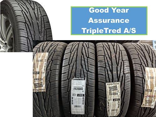 Set of 4 - 265/65/17 NEW Goodyear Tires