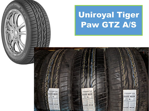 Set of 4 - 215/50/17 NEW Uniroyal Tires