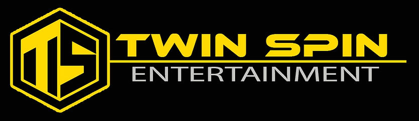 Twin Spin Logo Banner