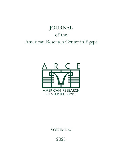 Journal of the American Research Center in Egypt Volume 57 (2021)