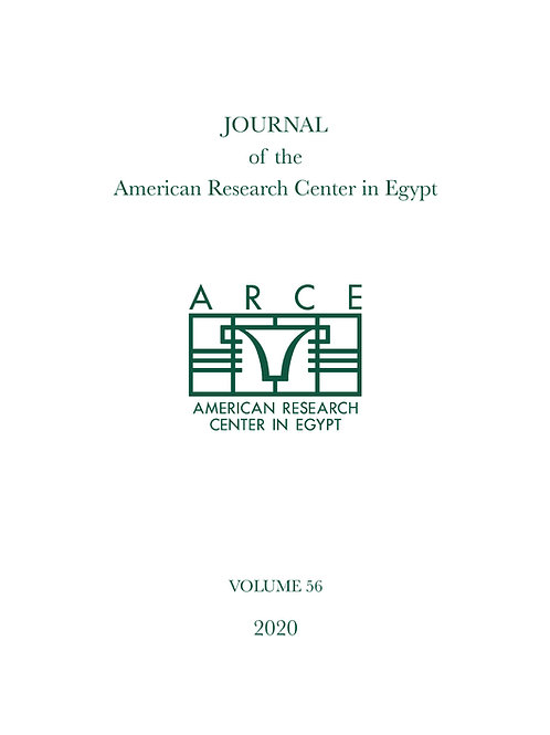 Journal of the American Research Center in Egypt